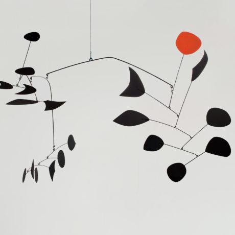 Alexander Calder. Rouge triomphant, 1963 © 2019 Calder Foundation, New York / VEGAP, Santander