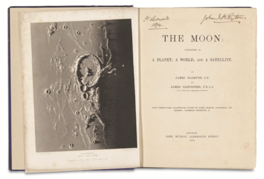 James Nasmyth and James Carpenter, The Moon, John Murray, London, 1874. Picture credit: Rijksmuseum, Amsterdam