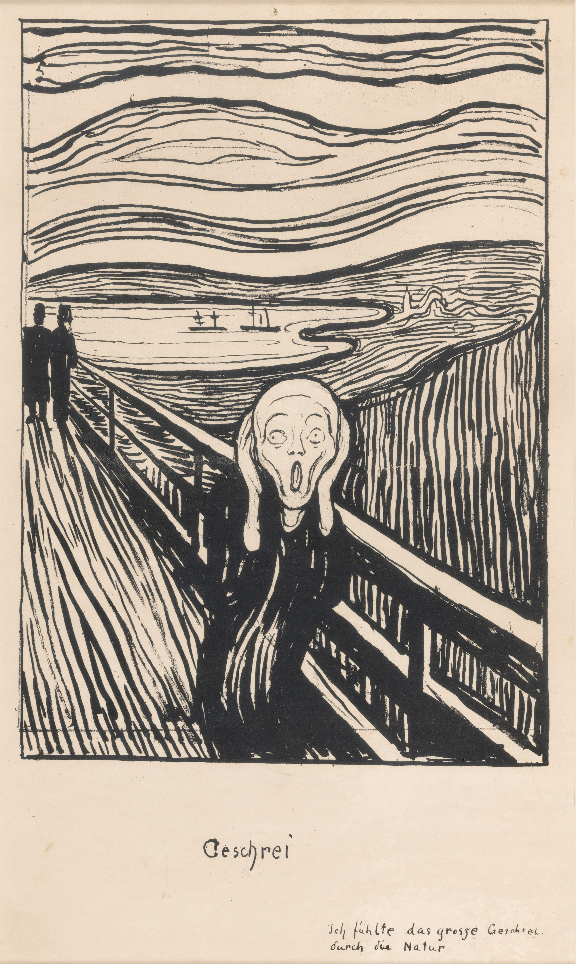 Edvard Munch, The Scream, 1895. Private Collection, Norway. Photo by Thomas Widerberg