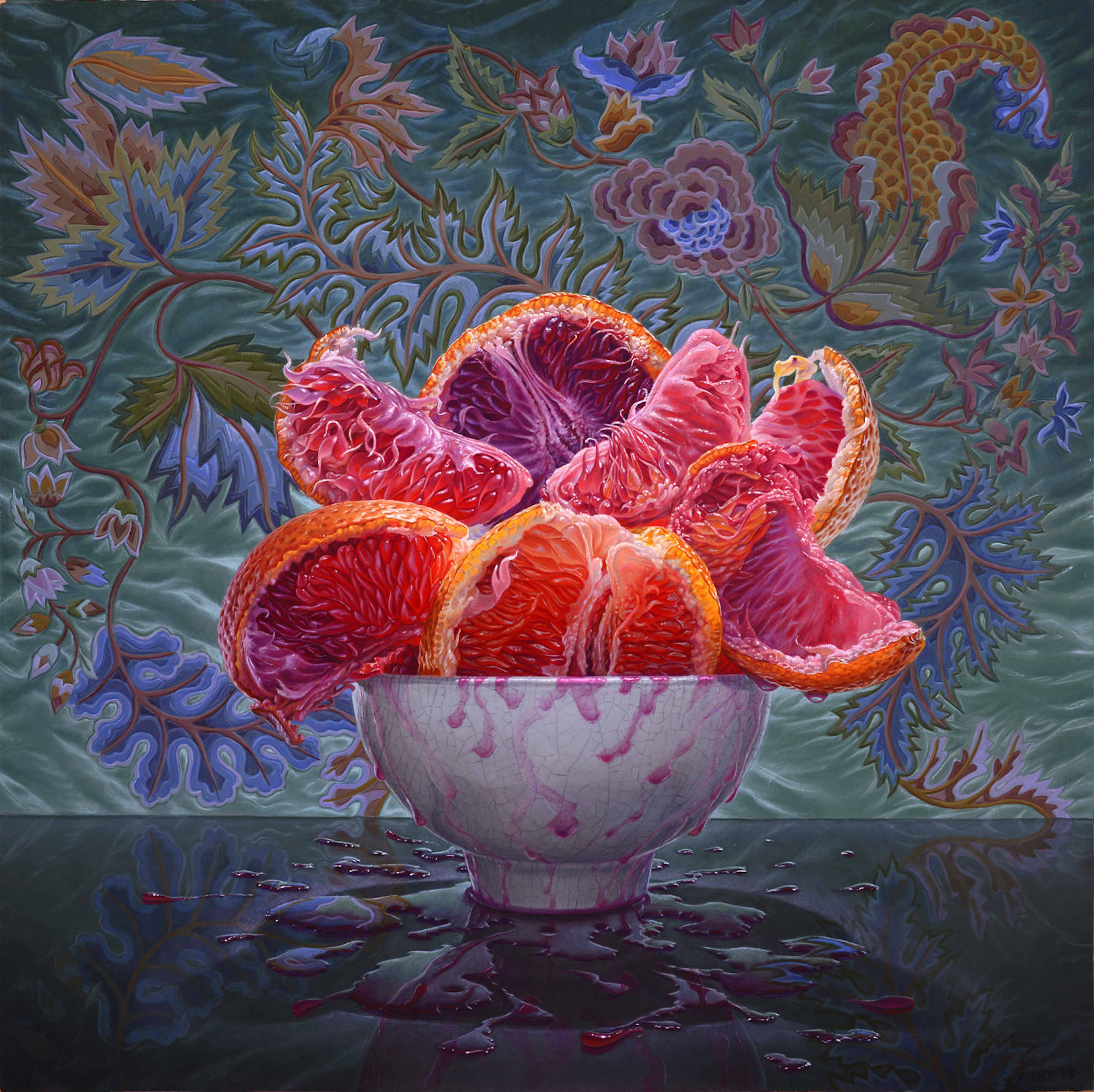 Eric Wert, Blood Oranges, 2015
