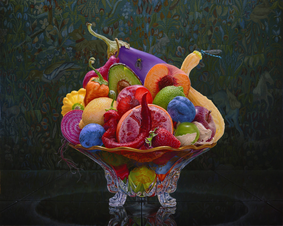 Eric Wert, Still Life With Flemish Tapestry, 2015