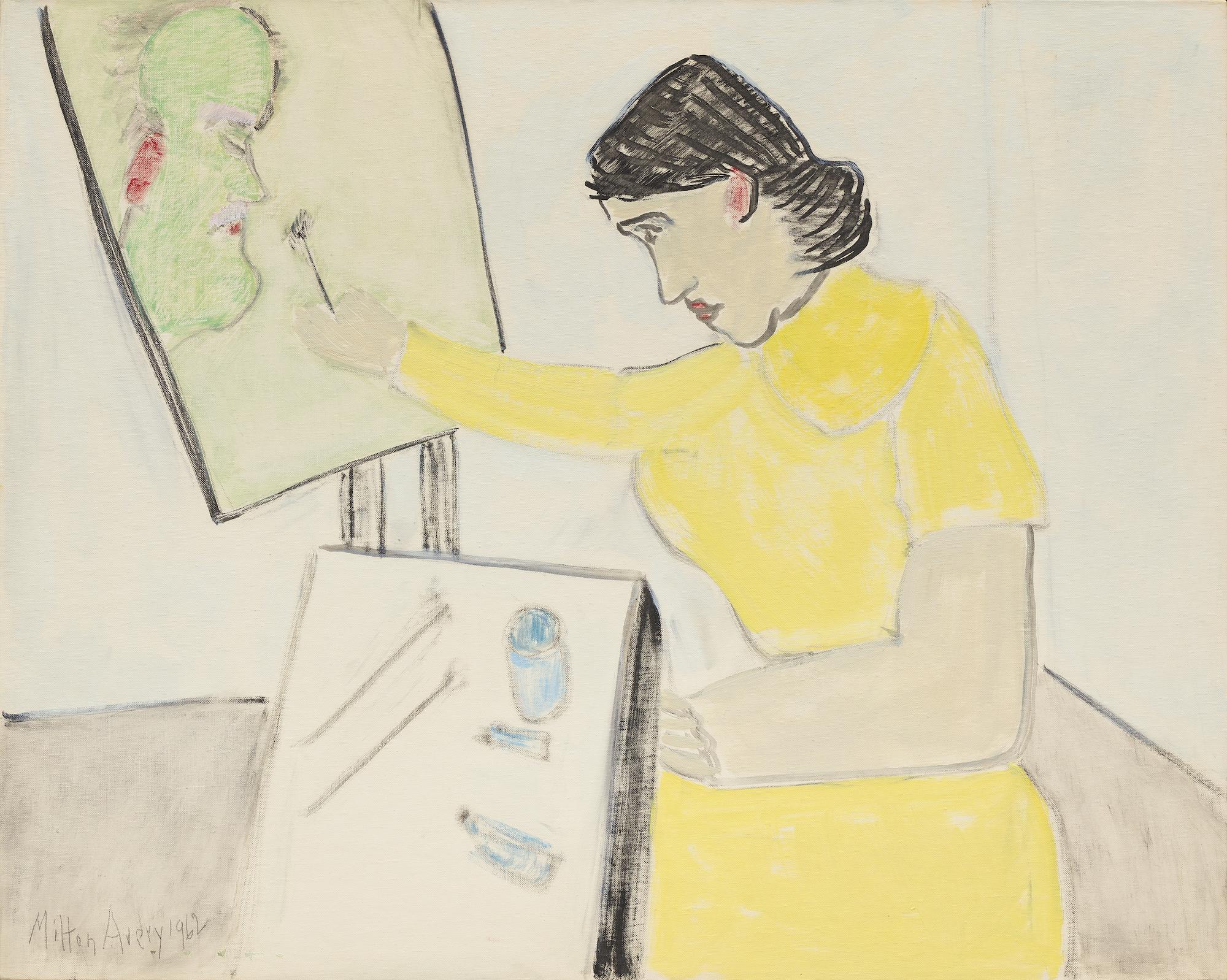 Artist Paints Artist, 1962