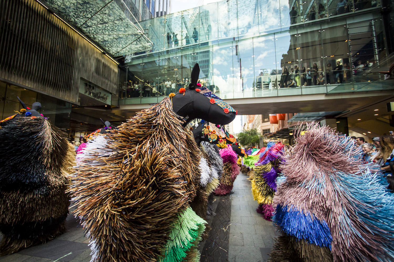 Nick Cave, Heard at Pitt Street Mall on November 10, 2016 in Sydney, Australia. Photo by Anna Kucera