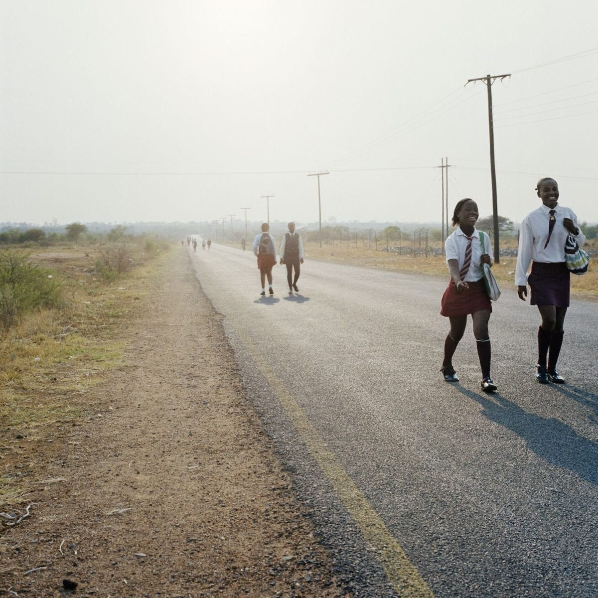 Homeland, Road Divide Guateng and Northwest Province, Hamaskraal, Former Bophuthatswana, 2011