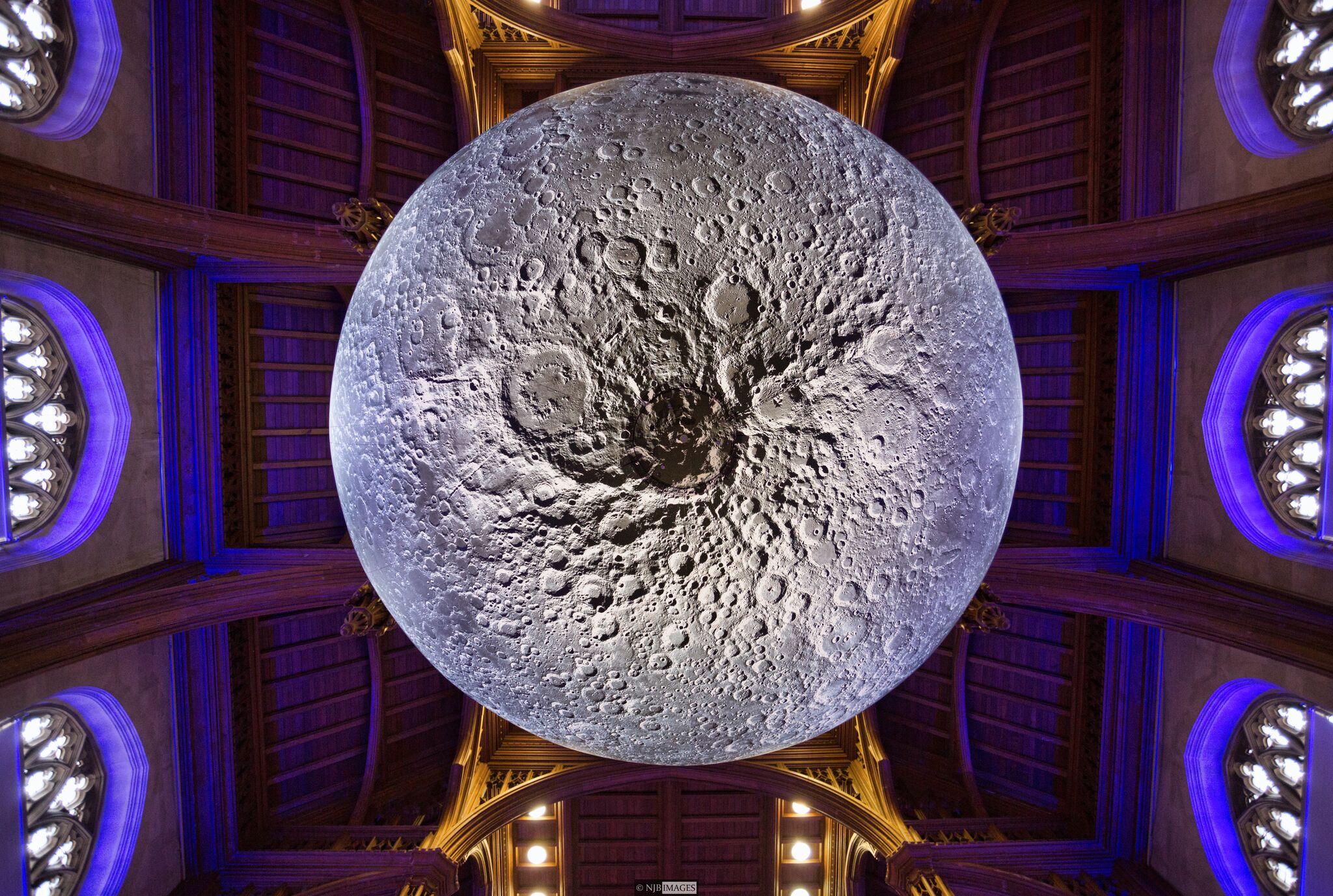 Luke Jerram, Museum of the Moon at University of Bristol