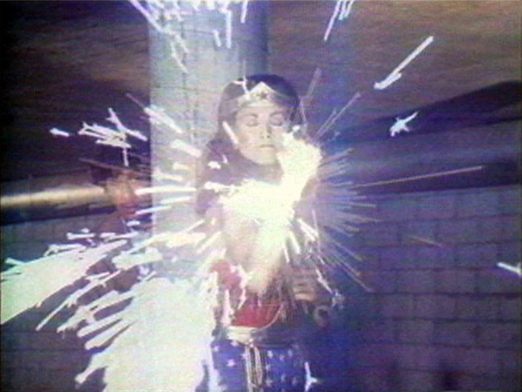 Dara Birnbaum, Technology/Transformation: Wonder Woman, 1978. Still video (colour, sound). Collection Walker Art Center. T.B. Walker Acquisition Fund, 1999