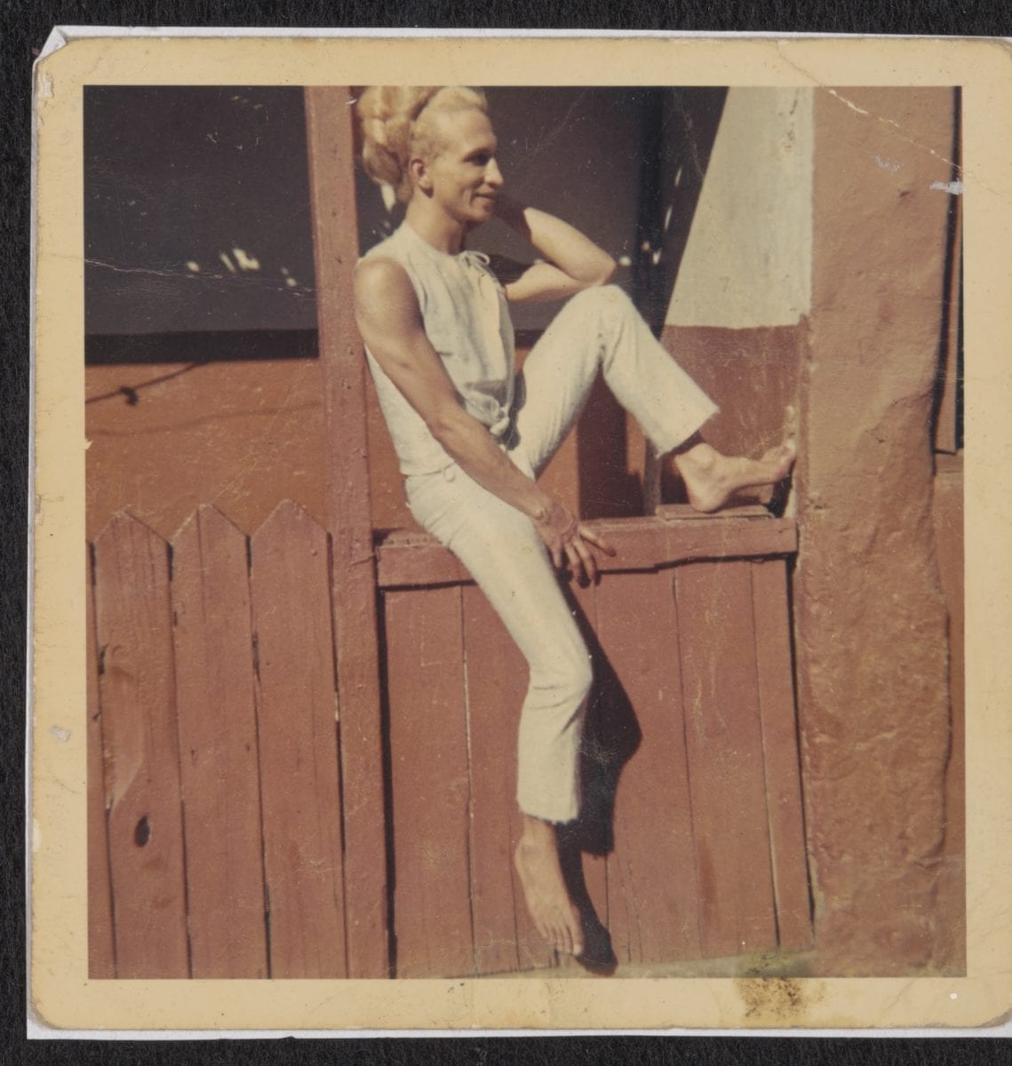 Kewpie on a Neighbour's Stoep in Invery Place, circa 1955 to 1980