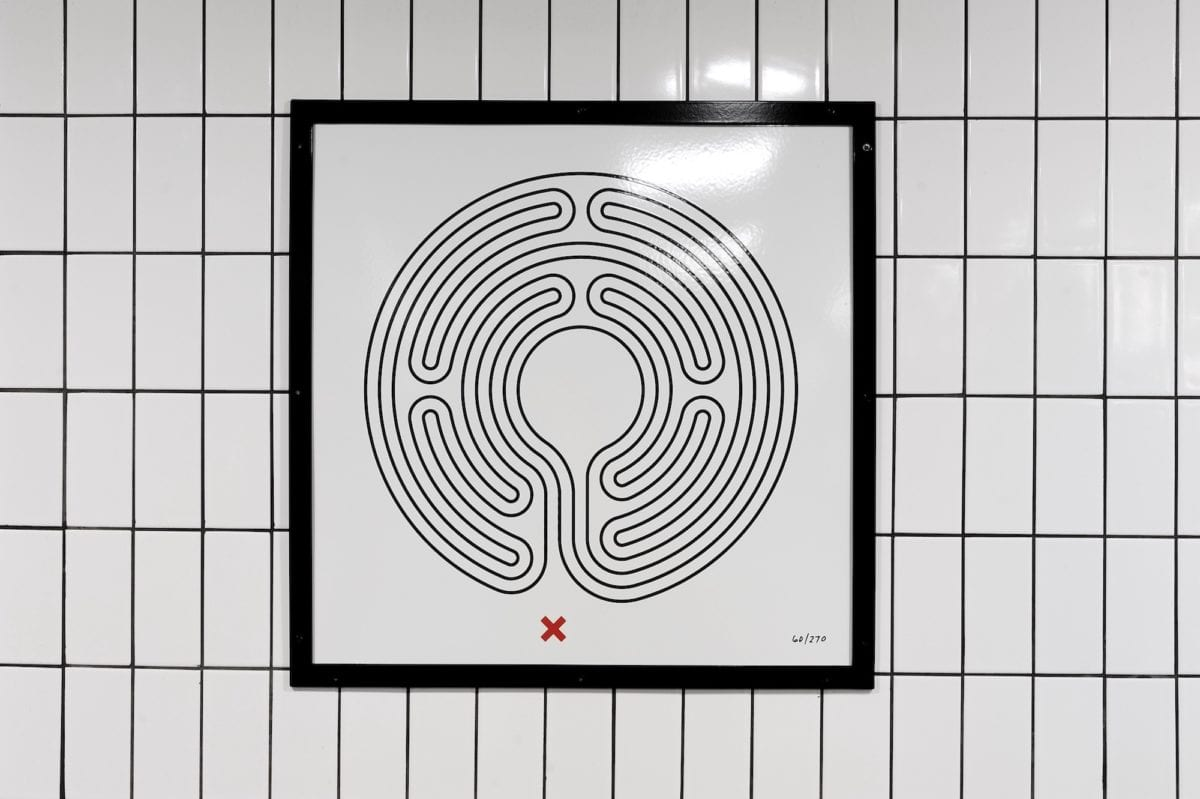 Mark Wallinger, Labyrinth, 2013