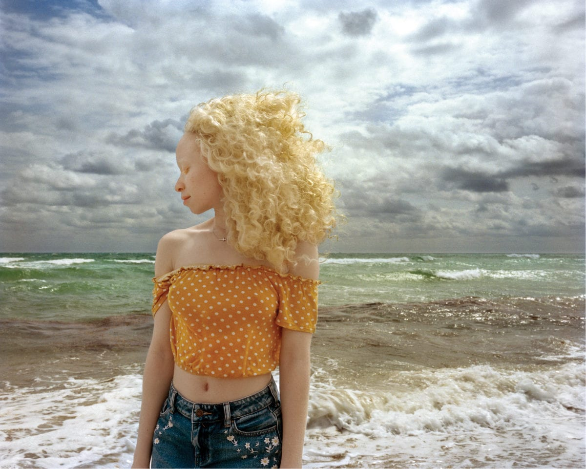 Rania Matar, Rayven, Miami Beach, Florida, 2019; Archival pigment print, 37 x 44 in.; Courtesy of the artist and Robert Klein Gallery