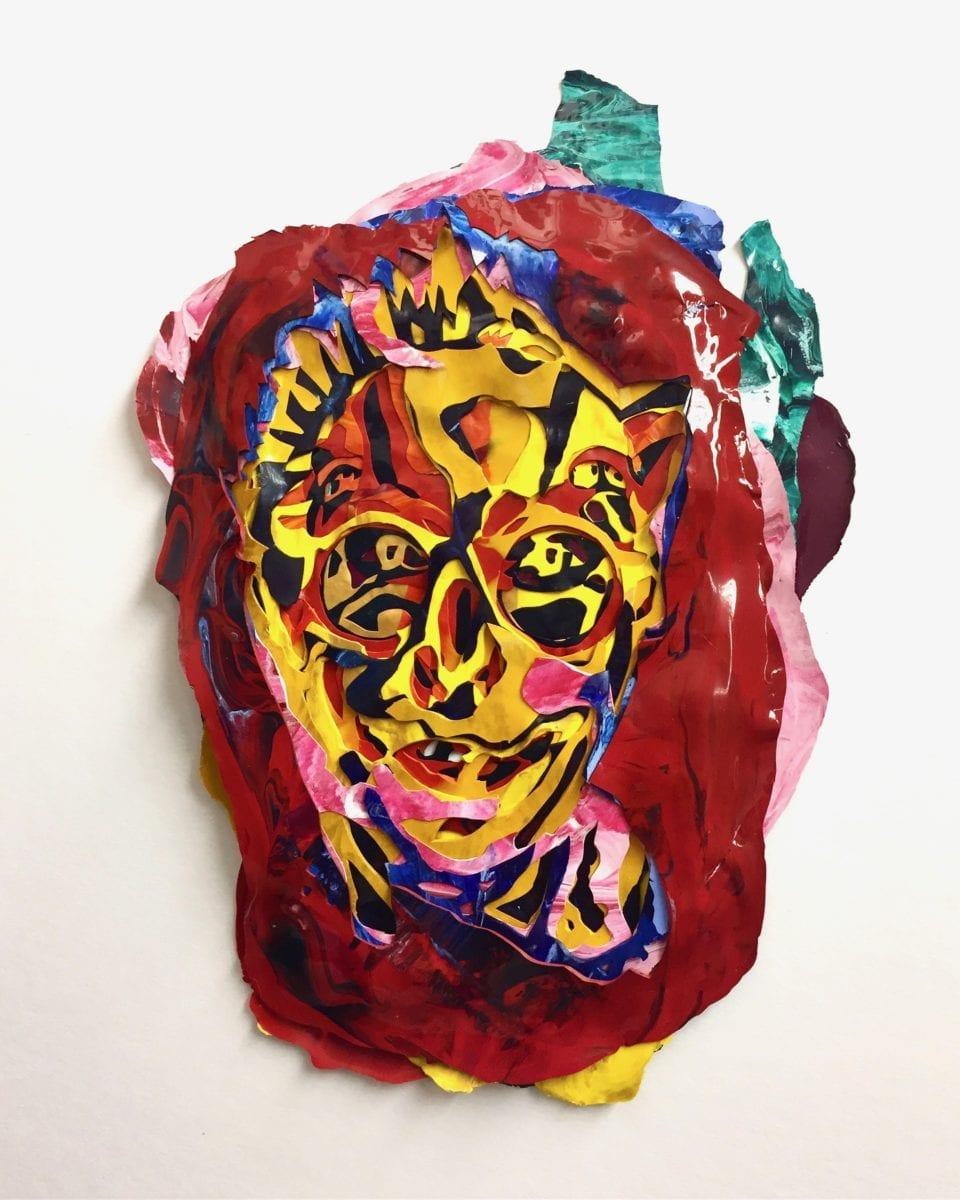 Tim A Shaw, Orlan, acrylic skins