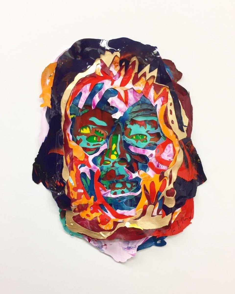 Tim A Shaw, Ru, acrylic skins