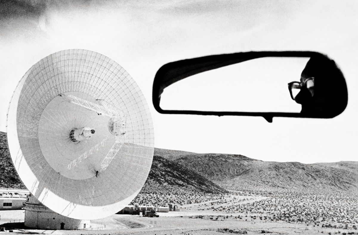 Dennis Stock, Mars Station, Goldstone, California 1968, from California Trip