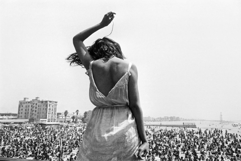 Dennis Stock, Venice Beach Rock Festival California1968, from California Trip