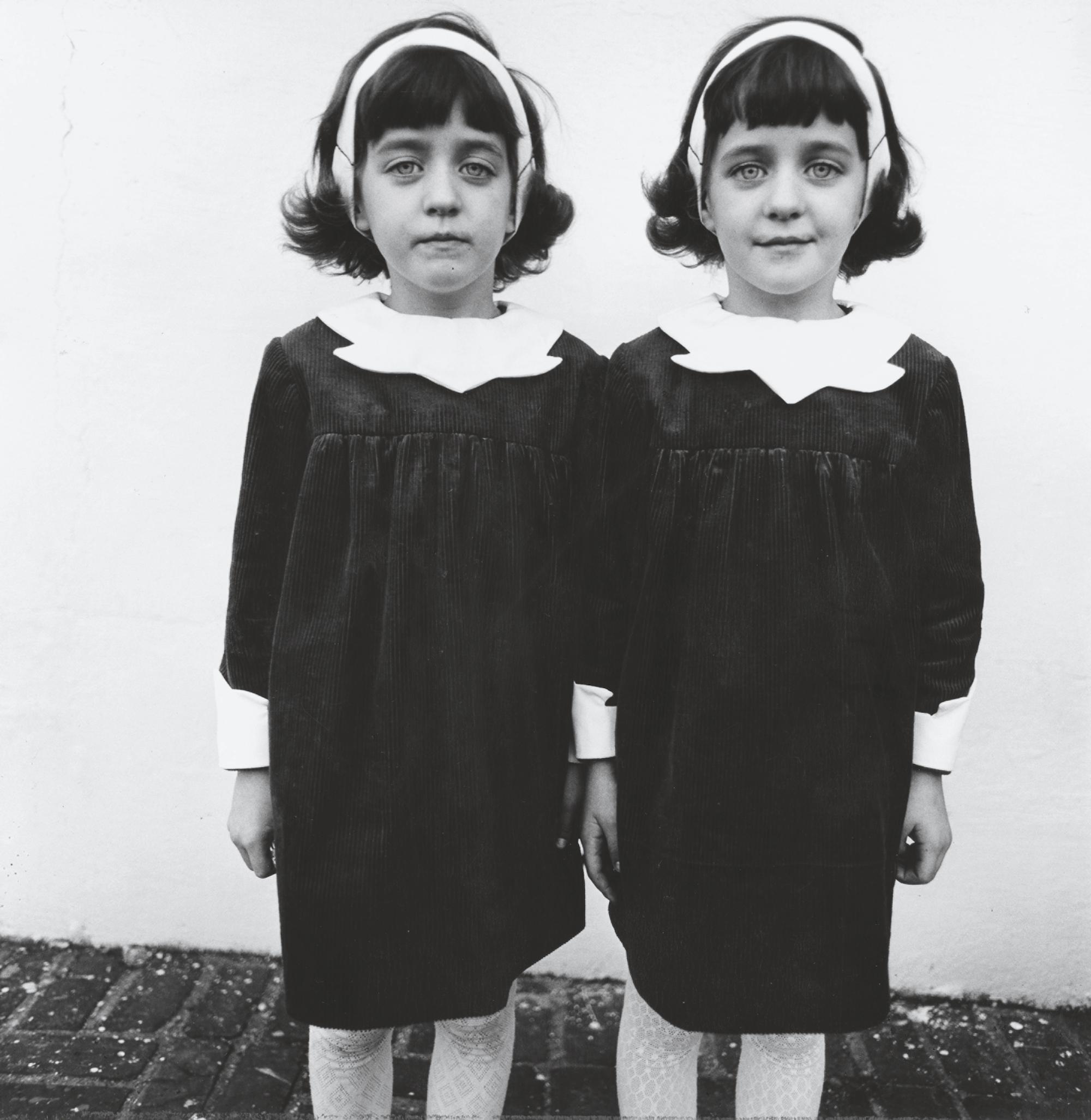 Diane Arbus, Identical Twins, Roselle, N.J., 1966, 1966, printed between 1967 and 1970 © The estate of Diane Arbus