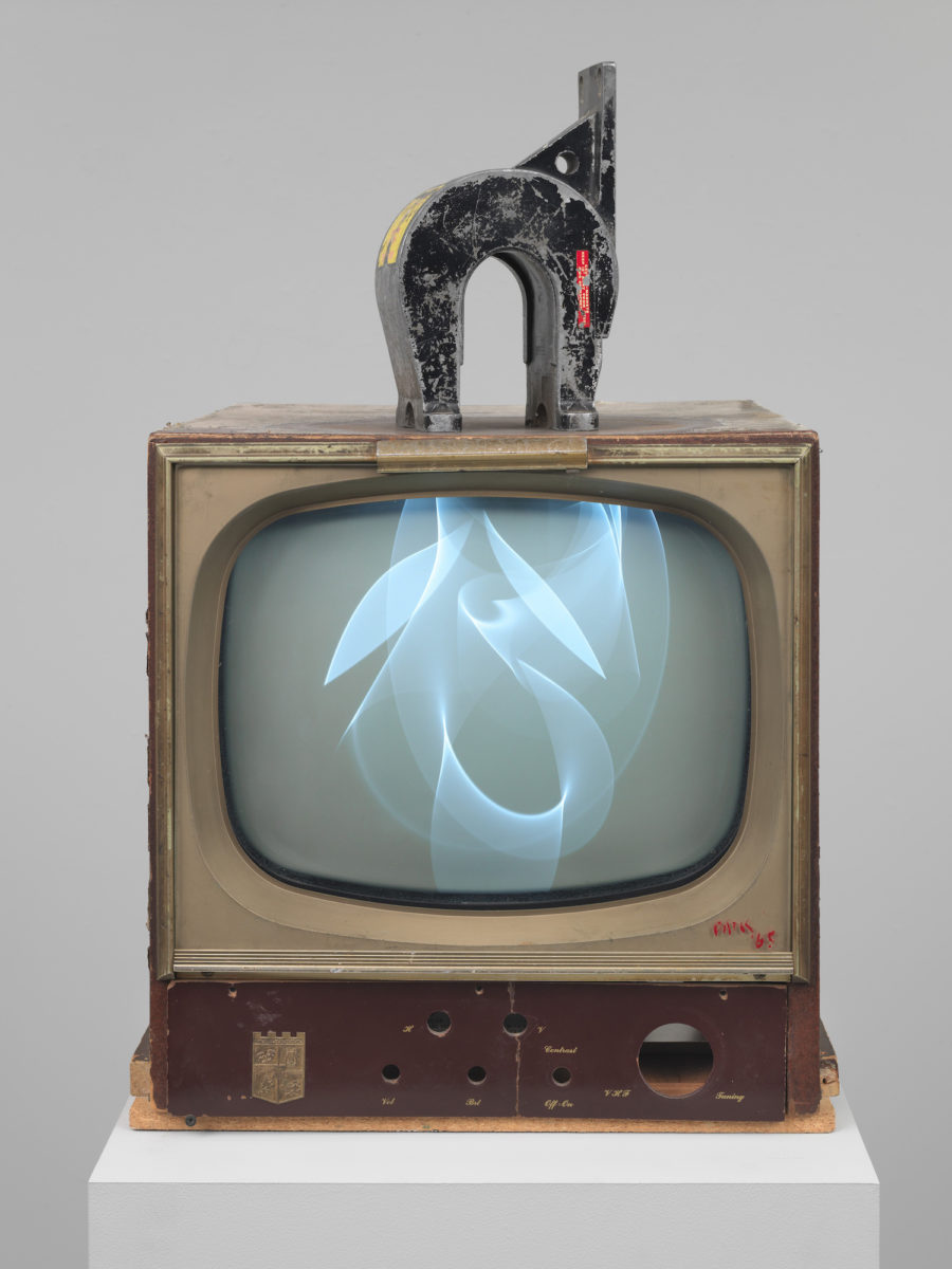 Nam June Paik, Magnet TV 1965, Whitney Museum of American Art, New York. Purchased, with funds from Dieter Rosenkranz.