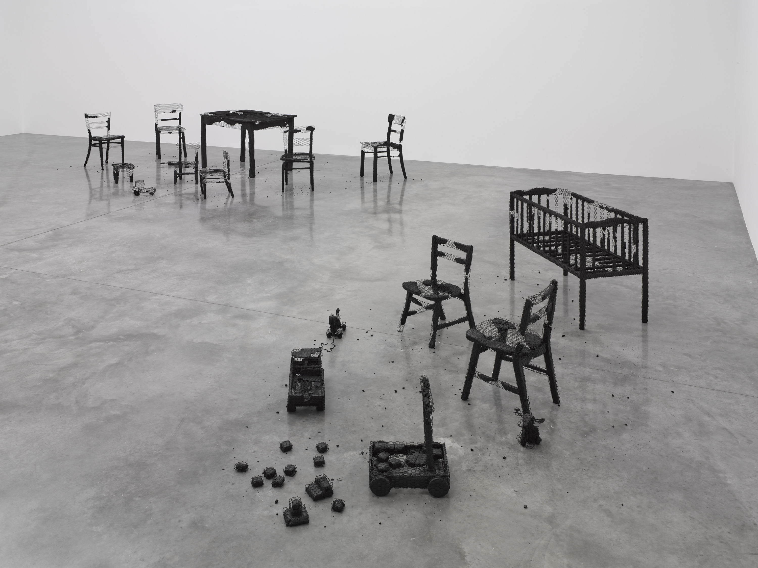 Mona Hatoum, Remains to be Seen, at White Cube Bermondsey, 12 September - 3 November 2019 Photo by Ollie Hammick © Mona Hatoum and White Cube