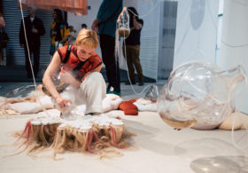 Baum & Leahy installation at Welcome Home: A Speculation on Living Spaces