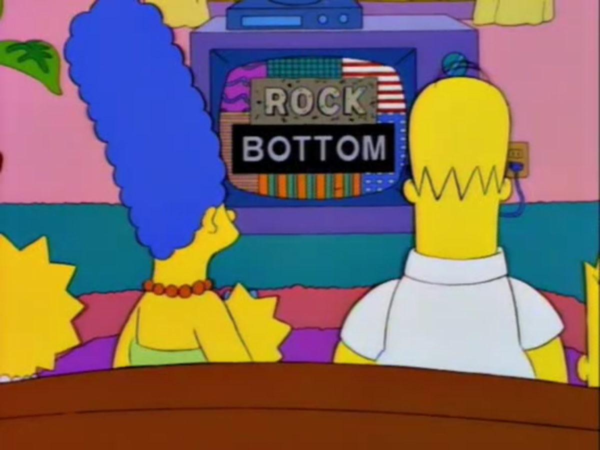 Lisa i Bart Simpson porno strip