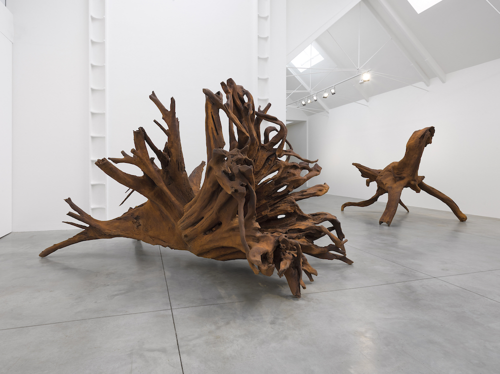 All images: Installation view of Ai Weiwei: Roots at Lisson Gallery, London, 2 October–2 November 2019 © Ai Weiwei, Courtesy Lisson Gallery