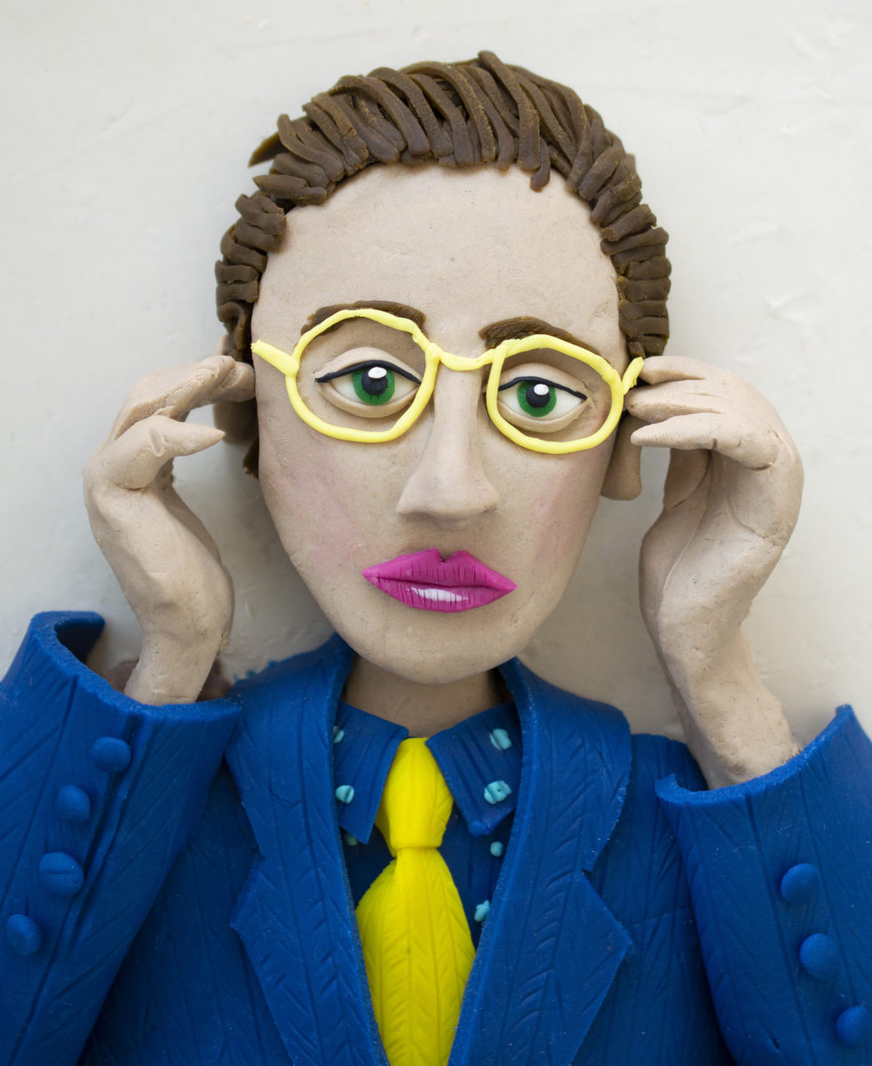 André Breton, self-portrait in photomaton_Eleanor Macnair