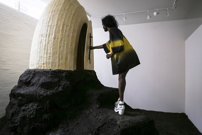 Terence Koh's Bee Chapel at Andrew Edlin gallery, New York
