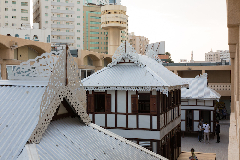 Marina Tabassum Architects, Inheriting Wetness, 2019. Installation view. Commissioned for Rights of Future Generations, inaugural edition of the Sharjah Architecture Triennial, 2019. Photo courtesy of Antoine Espinasseau