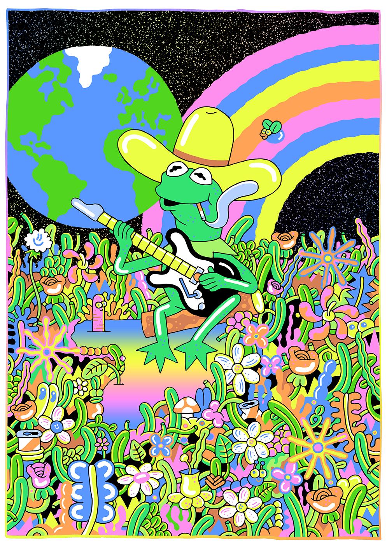 Sam Taylor, Kermit World, personal work