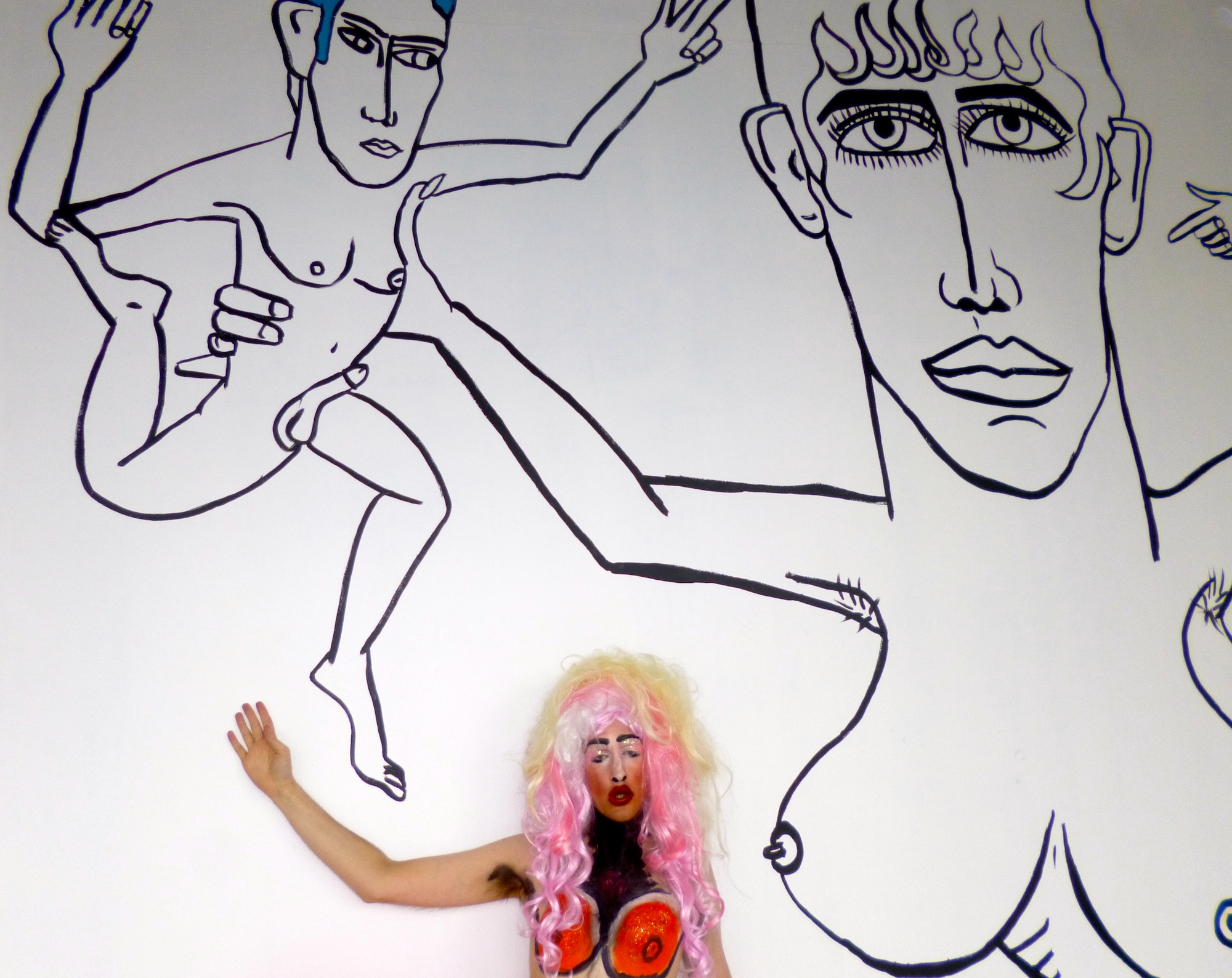 Paul Kindersley, #TheBritishAreCumming, film still, 2014. Courtesy the artist