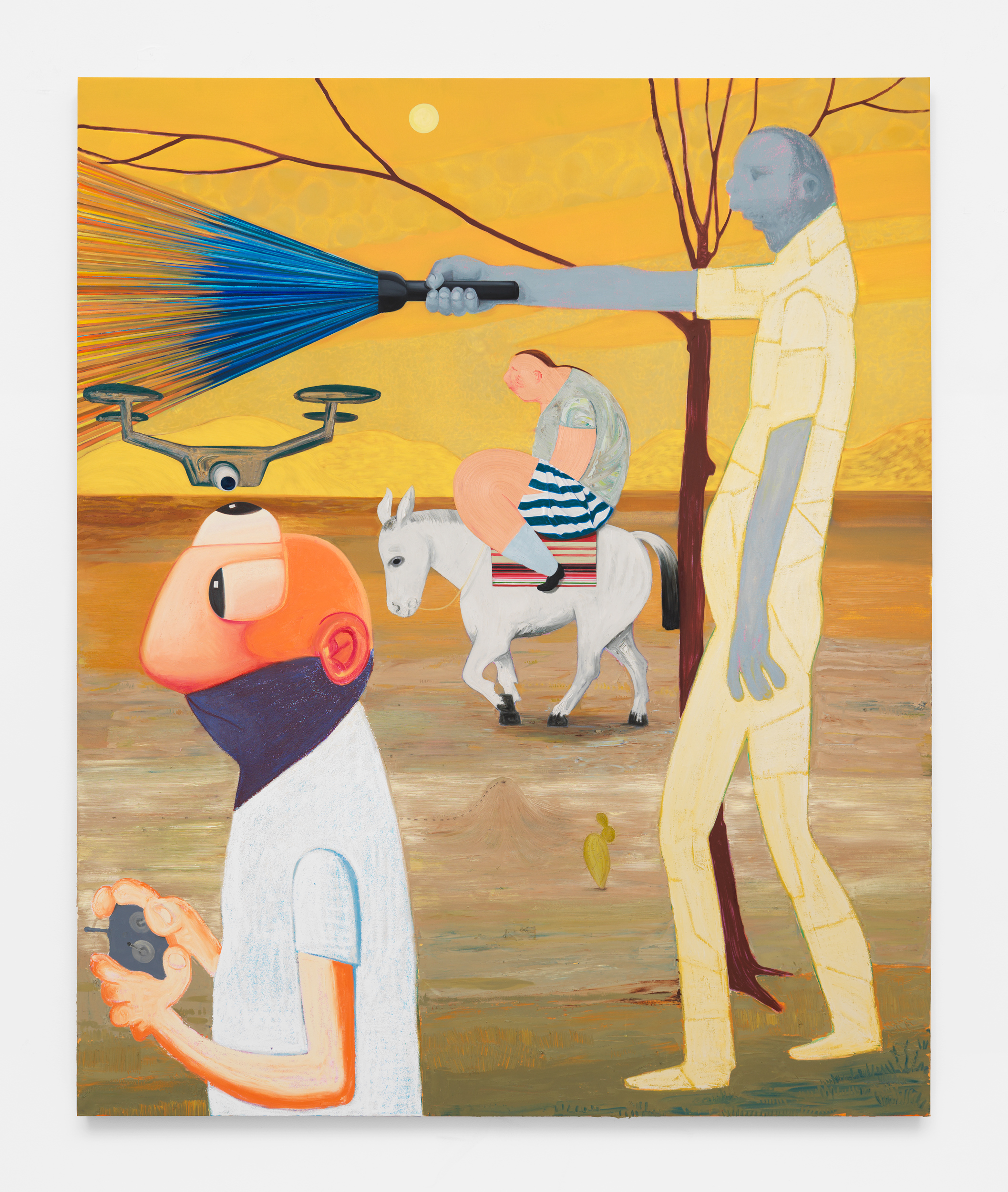 Nicole Eisenman, The Darkward Trail, 2018