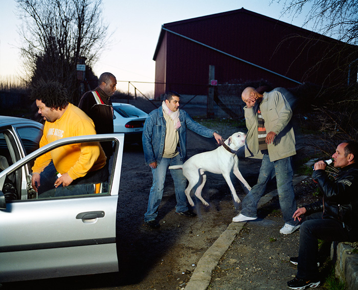 Mohamed Bourouissa, from the series Périphérique, 2005-2009
