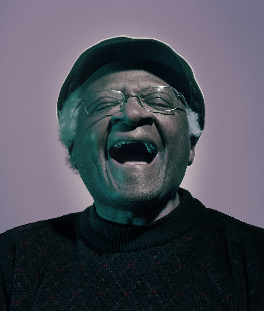 Desmond Tutu, London, England, 2004