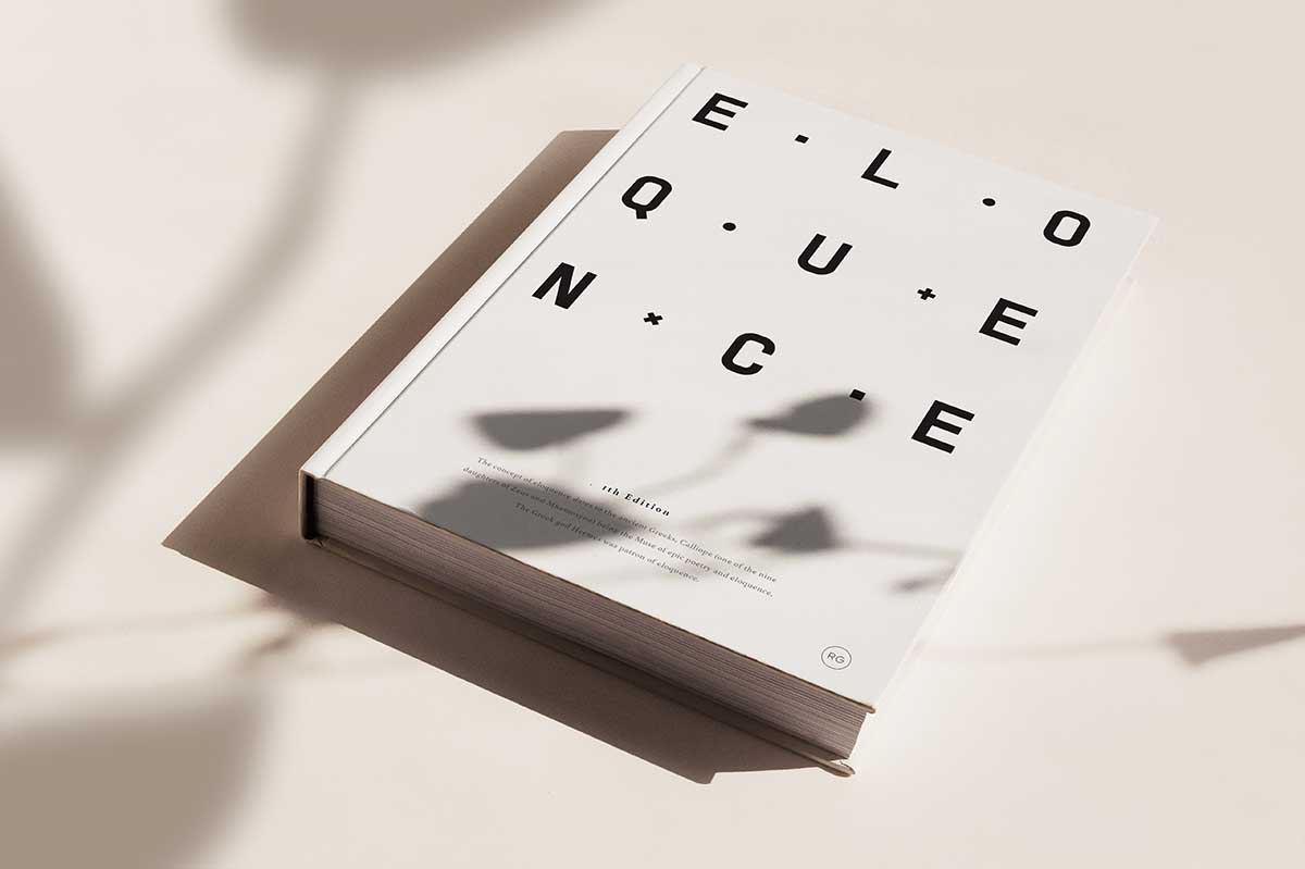 Efil Türk, Eloquence book cover design