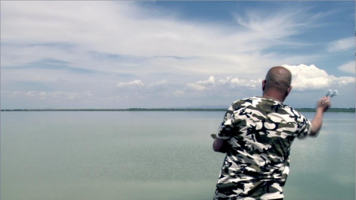 Zhang Hui, Qilian Range,  2014, Video still