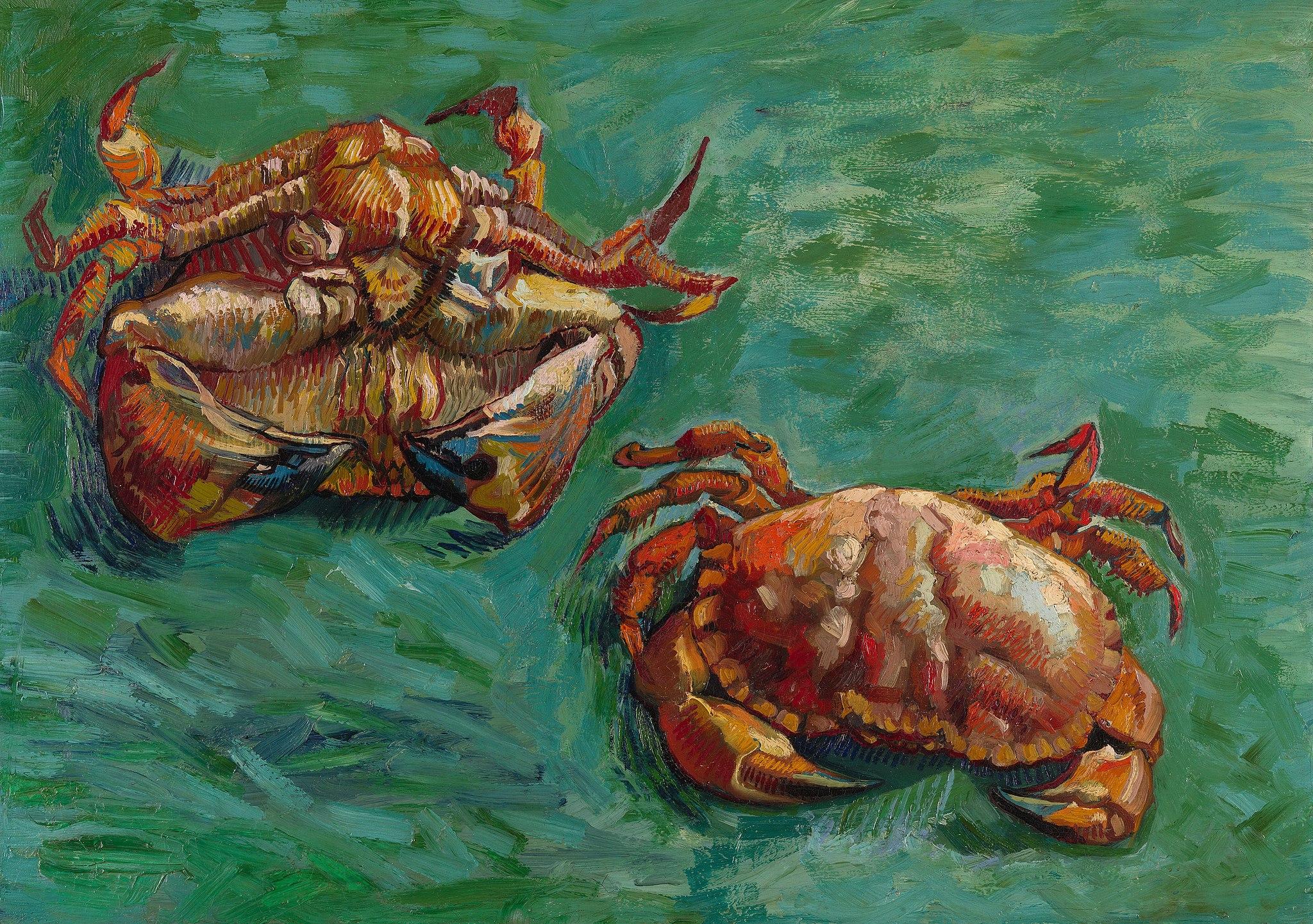 Vincent van Gogh, Two Crabs, 1889