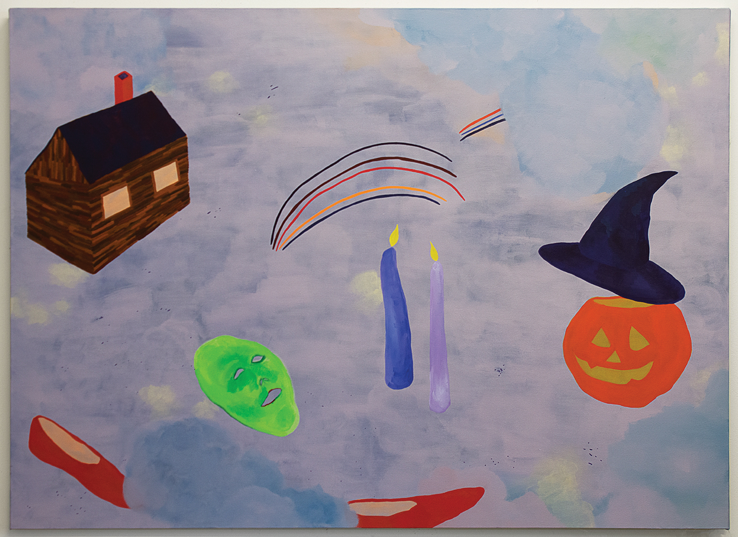 Harley Lafarrah Eaves, More Thematic Plot Points In The Wizard Of Oz From Childhood Memories, 2018. Image courtesy of projects+gallery