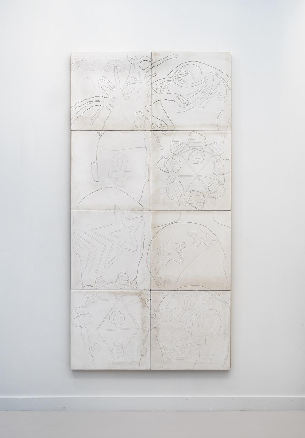 Lauren Halsey, Untitled, 2020 David Kordansky Gallery