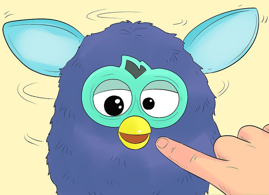 From the WikiHow guide How to Make Your Furby Evil