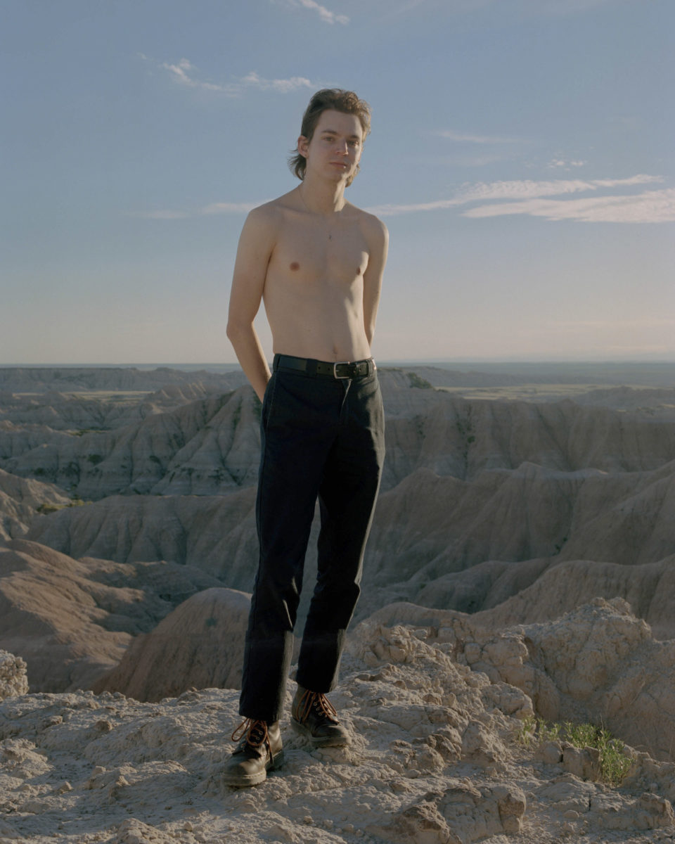 Jake in Badlands, 2017
