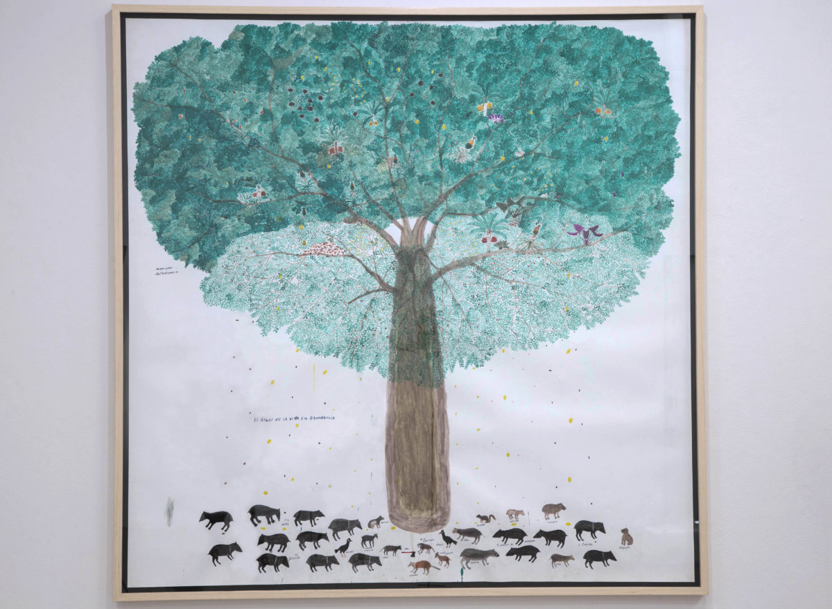 Abel Rodríguez,  El árbol de la vida y la abundancia, 2019. Courtesy the artist and Instituto de Visión