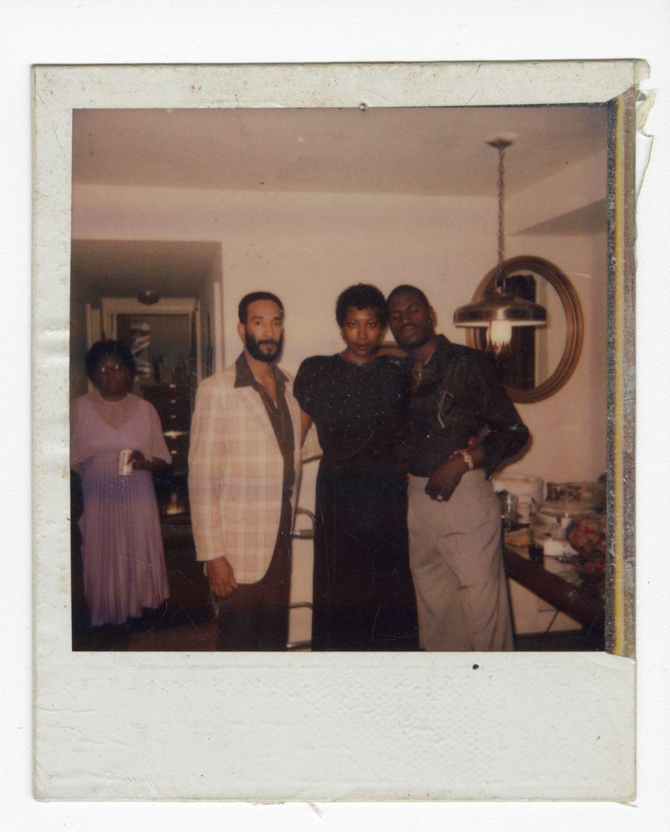 Mickalene Thomas, Family Photos of Sandra Bush © Mickalene Thomas, Courtesy the artist