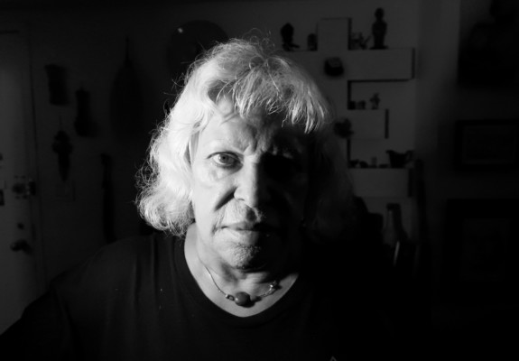 Photographic portrait of Genesis Breyer P-Orridge, by Carl Abrahamsson, 2018