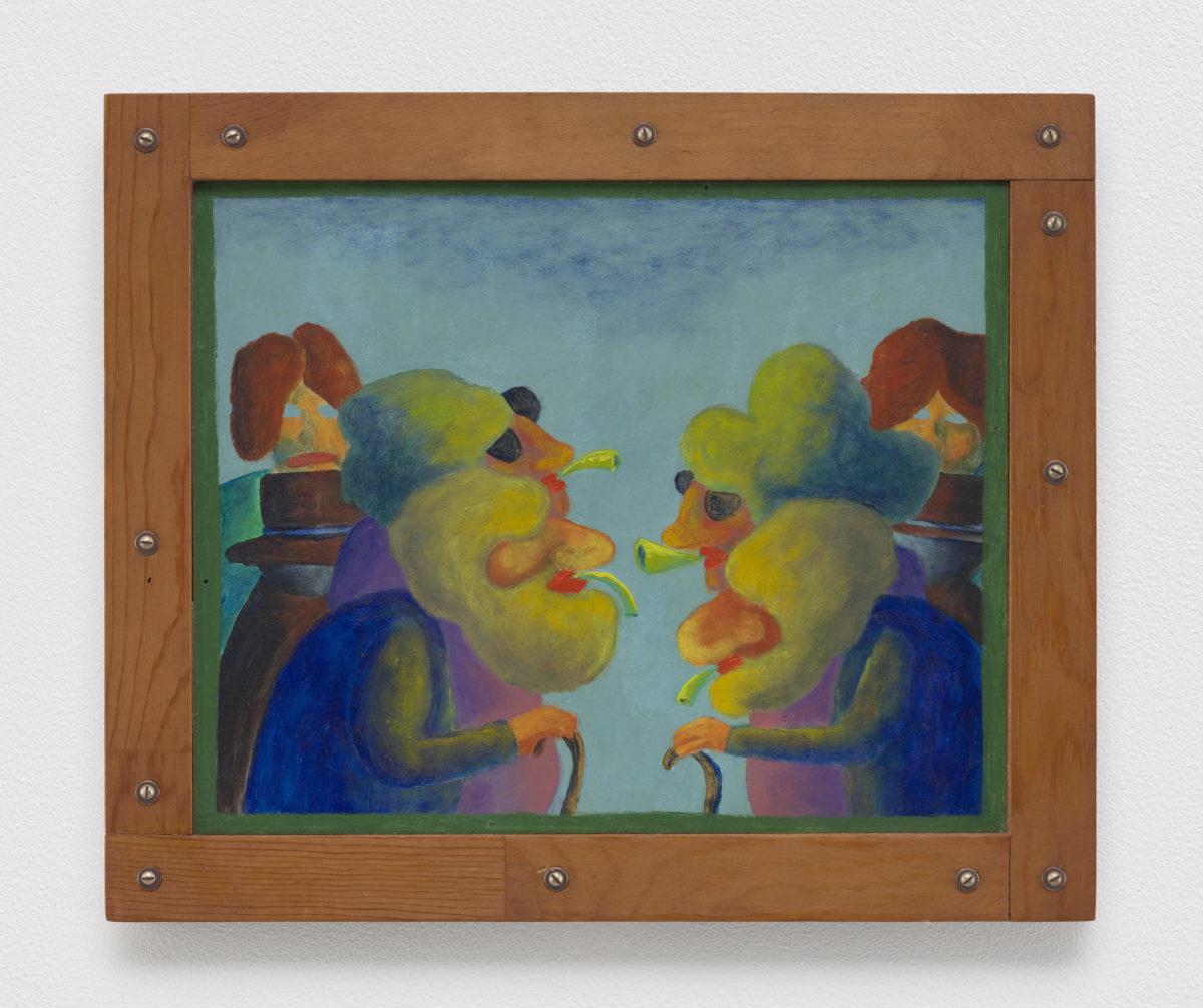 Gladys Nilsson, Honk, 1964. Courtesy Matthew Marks Gallery