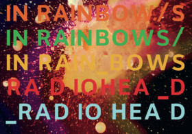 Stanley Donwood, artwork for Radiohead's In Rainbows album, 2007