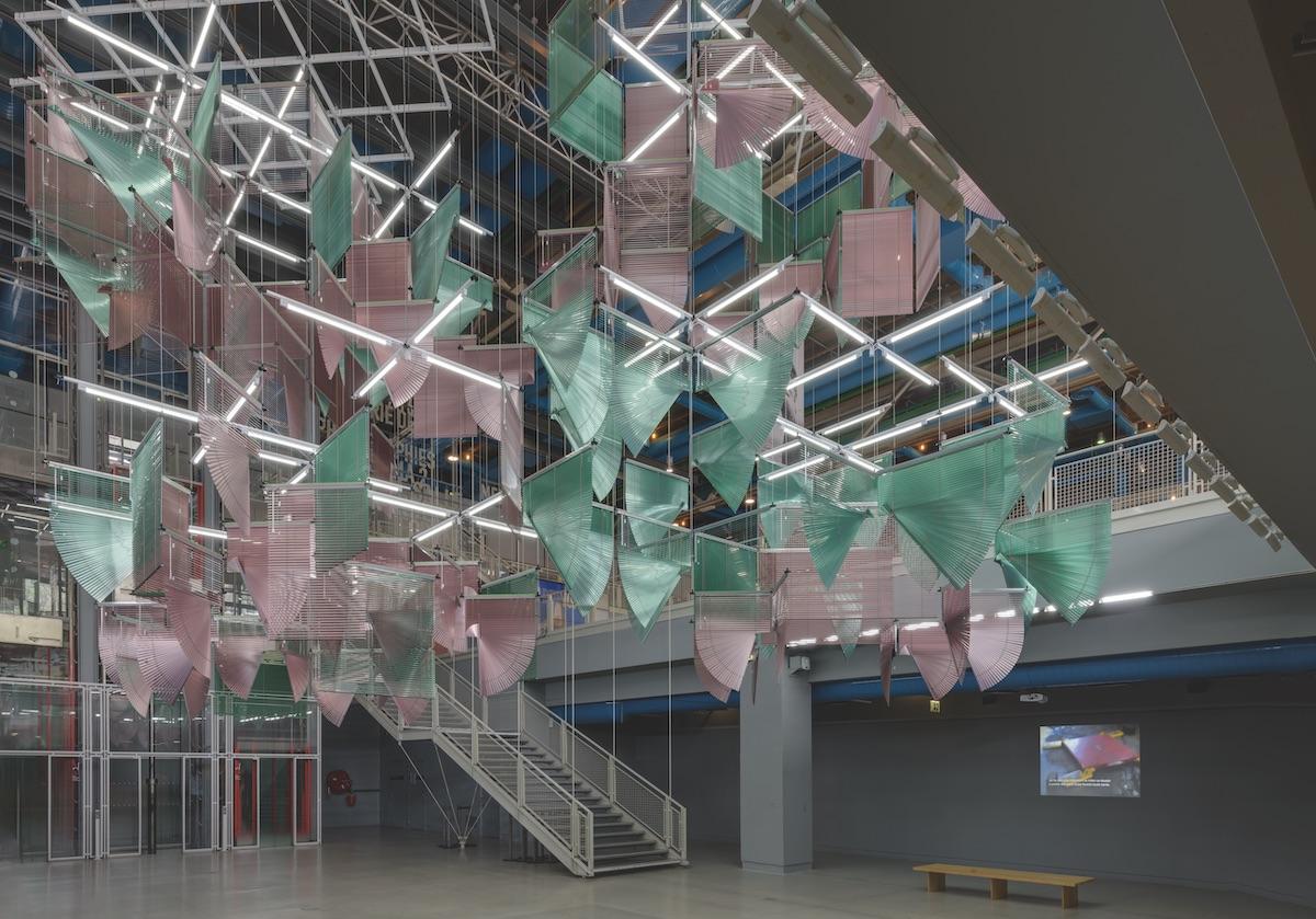 Haegue Yang, Lingering Nous, 2016, Collection du Musée national d'art moderne – Centre de création industrielle du Centre Pompidou, Paris