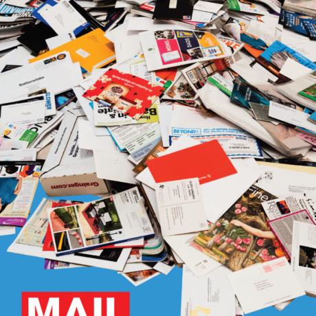 Mungo Thomson, Mail, cover