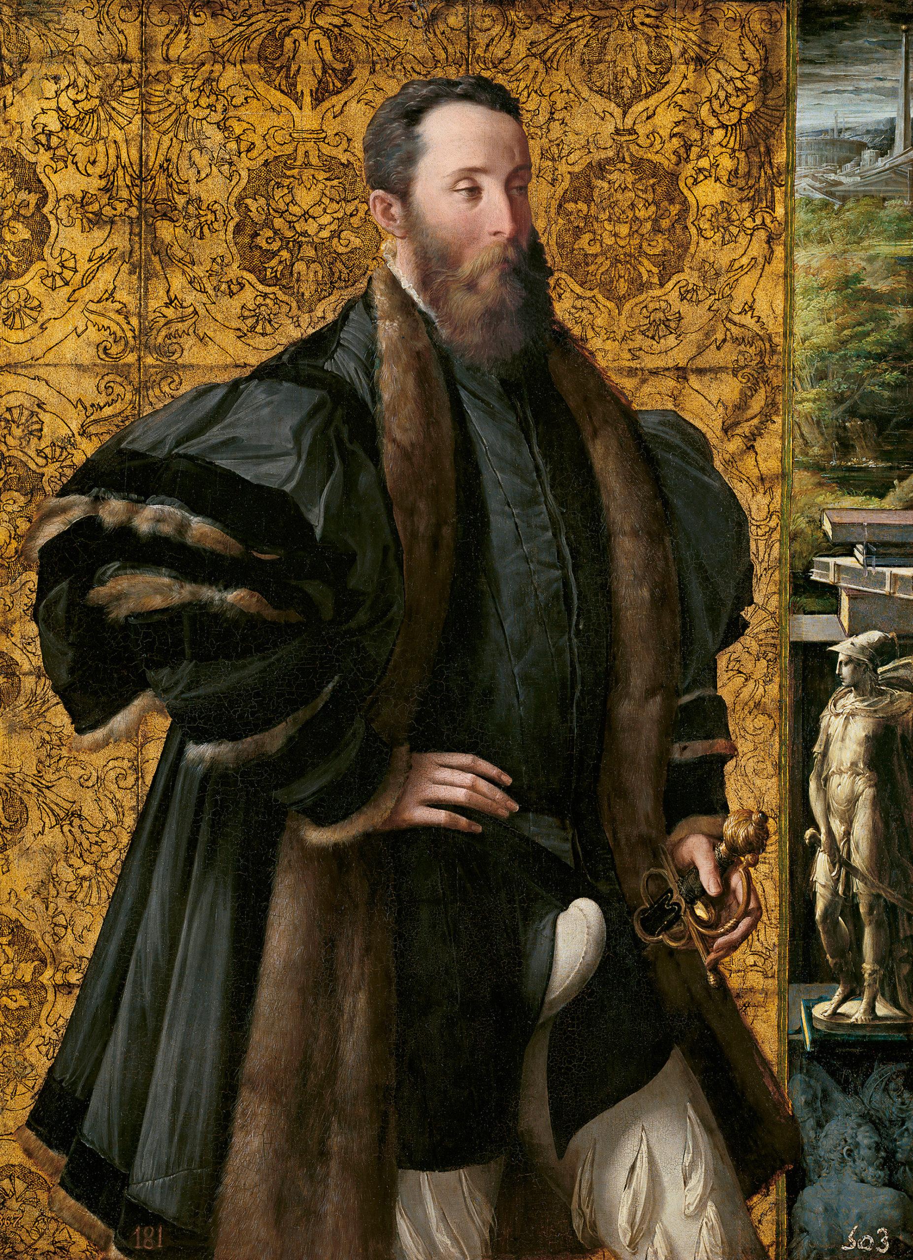 Parmigianino (Girolamo Francesco Maria Mazzola), Pietro Maria Rossi, Count of San Secondo, 1535–1538