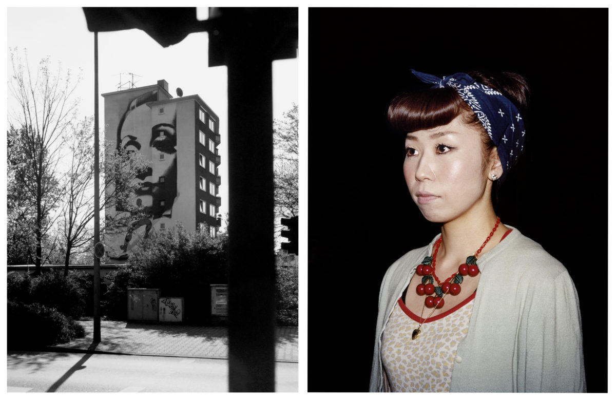 Spiderman/Marlene, Düsseldorf 1999, Junko, Osaka,  2008. From Imaginary Club, by Oliver Sieber