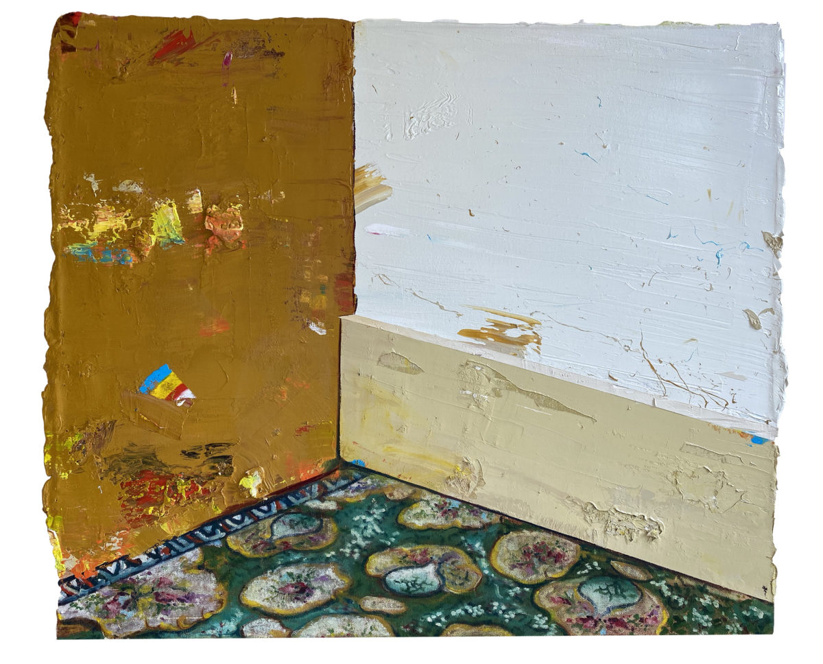 2020-The Germ of a Room.28 x 23.6 inches, (71 x 60 cm) copy