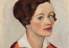 Josephine Verstille (Nivison) Hopper, Untitled (Portrait of a Woman with Brown Hair) and Untitled (Landscape). Courtesy of PAAM, Gift of Laurence C. and J. Anton Schiffenhaus in memory of Mary Schiffenhaus, and two anonymous donors, 2016 and Gift of Alfred T. Morris Jr., 2000