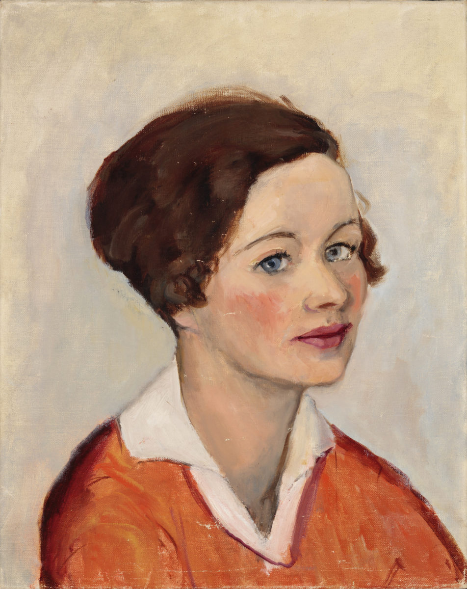 3. Hopper, Josephine, untitled (portrait of woman with brown hair), 2523.Jo9.Pa16 (1)